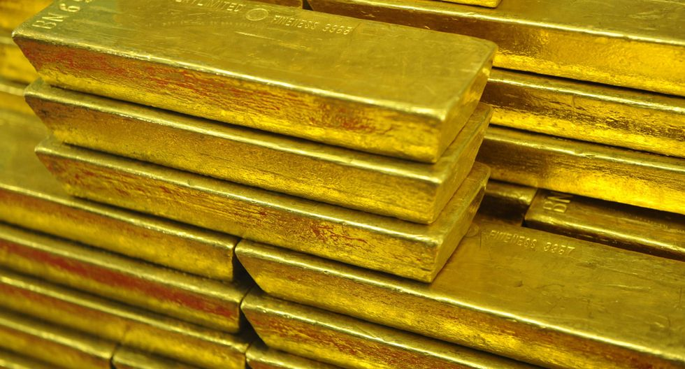 Los futuros del oro en Estados Unidos ganaban un 0.2%, a US$ 1,285.60 la onza. (Foto: AFP)