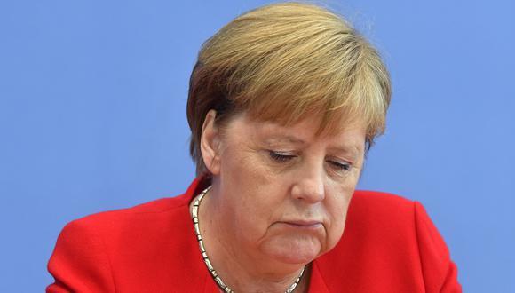 Los médicos consultados advierten de que es muy atrevido y arriesgado realizar un diagnóstico sobre Merkel a través de unas imágenes de televisión. Foto Archivo de AFP