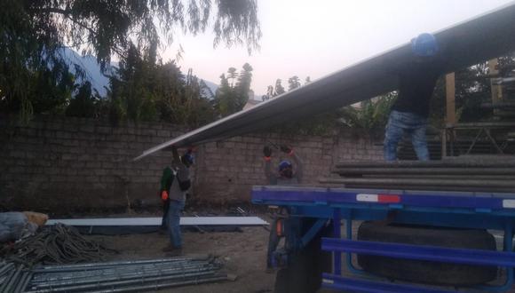 """""""Hospital Blanco"""" contará con 50 camas intermedias para pacientes COVID-19 (Foto: Gobierno Regional Apurímac)."""