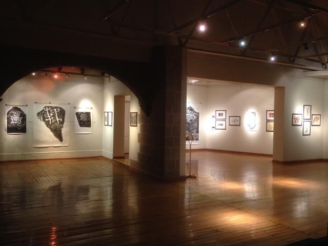 El proyecto de Munive se presentó en la Galería del Convento de Santo Domingo, en el Qoriqancha. (Foto: Manuel Munive)