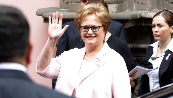 La esposa de PPK, Nancy Lange, ha sido citada por la Comisión Lava Jato por su relación con empresas en las que participó el socio del mandatario, Gerardo Sepúlveda. (Archivo El Comercio)