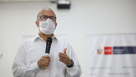 Ministro de Salud, Víctor Zamora, afronta dos pedidos de interpelación en el Congreso (GEC)