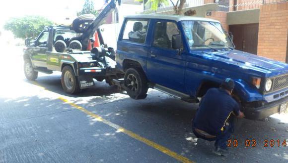 San Borja subastará 23 vehículos declarados en abandono