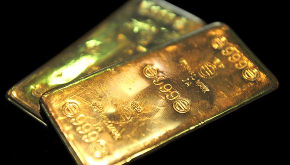 Los futuros del oro en Estados Unidos operaban con escasos cambios, a US$1.806,40 la onza. (Foto: AFP)