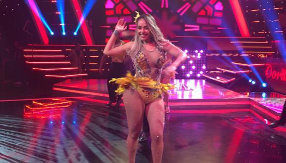 """Dorita Orbegoso manifestó que estaba muy contenta por participar en """"Reinas del show"""". (Foto: Twitter)"""