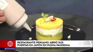 Restaurante peruano abre en Japón en plena pandemia