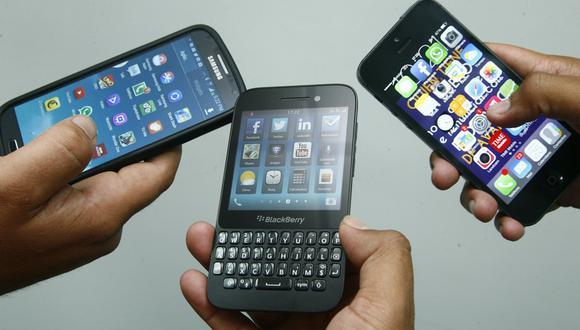 Más de 14 mil celulares se roban al día en el Perú