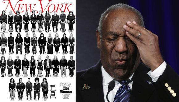 Bill Cosby: revista reunió a las 35 mujeres que lo acusan