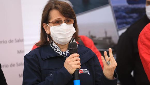 Pilar Mazzetti renunció al Minsa tras las críticas desde el Congreso de la República y diversos sectores por la presunta vacunación del expresidente Martín Vizcarra contra el COVID-19. (Foto: Andina)