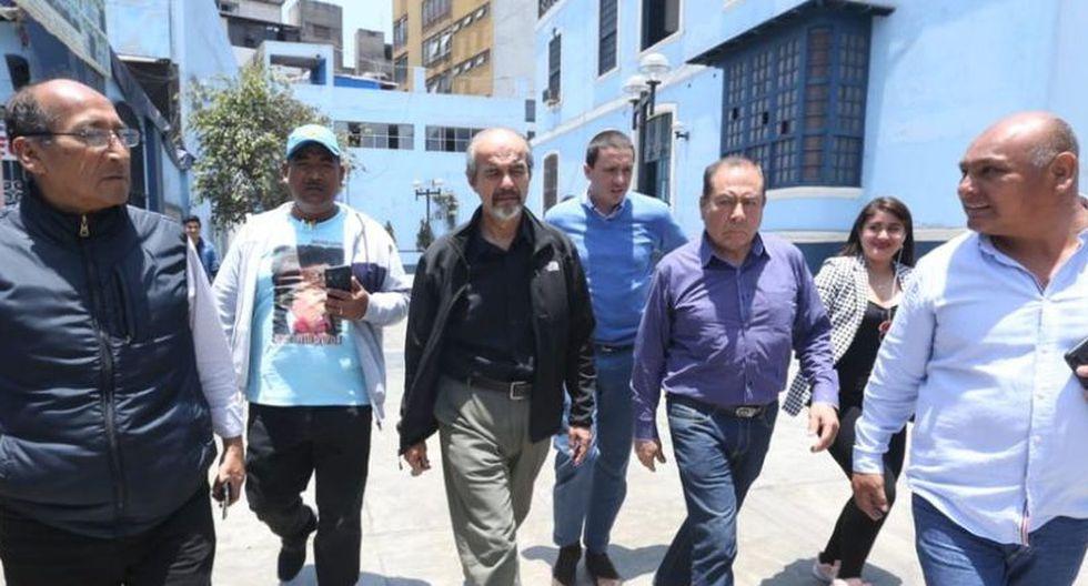 Mauricio Mulder postuló con el número 1 en la lista del Apra por Lima (Foto: GEC)