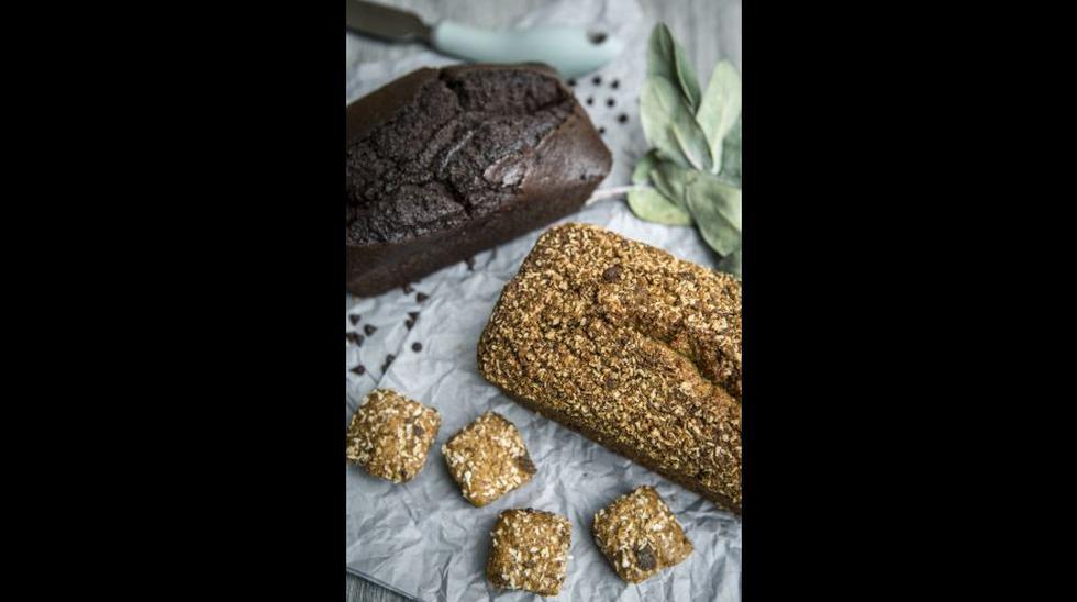 Bagels de arroz, quinua y kiwicha (clásico y verde, con espinaca y perejil) y bagel de maíz morado y kiwicha. En Huh! se elaboran cremas o quesos a base de cashews, que se usan en los sánguches.