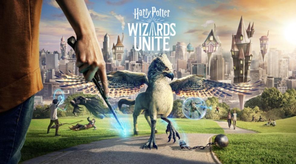 Harry Potter Wizards Unite. (Difusión)