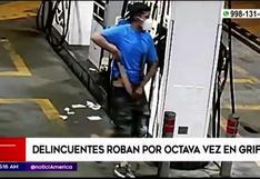 Comas: ladrones asaltaron grifo por octava vez