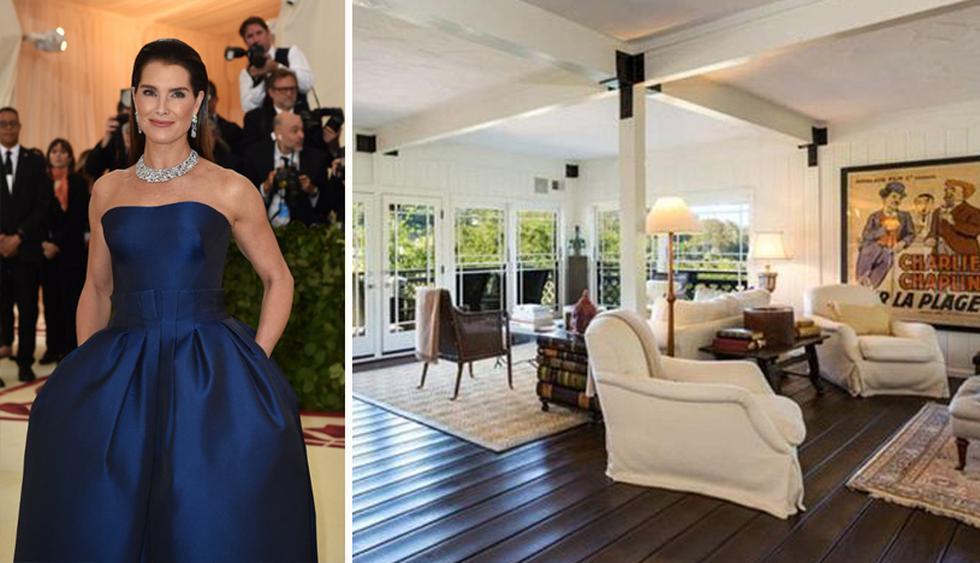 La casa de playa de Brooke Shields se ubica en Pacific Palisades, Los Ángeles. Su alquiler mensual es de US$ 25 mil. (Foto: The MLS)
