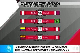 Conoce los cotejos de Perú en la Copa América 2021