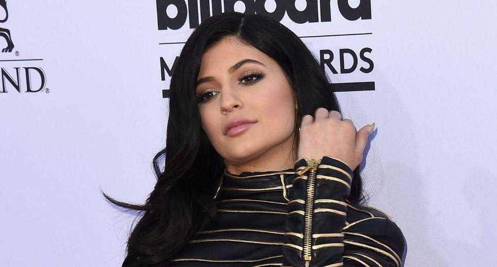 Kylie Jenner dejó asombrados a muchos de sus seguidores. (AFP)