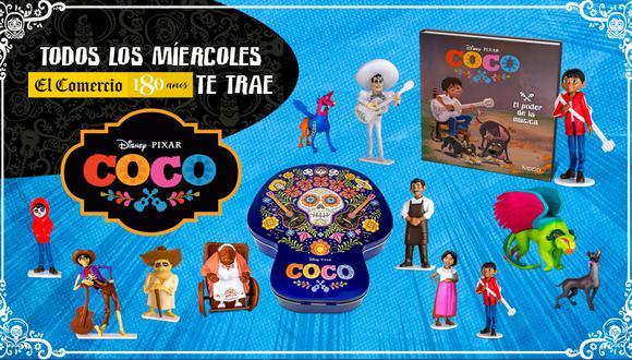 Una colección de 12 entregas, descubre el mundo de Miguel Rivera y las enseñanzas que nos dejo esta película ganadora de 2 premios Óscar.