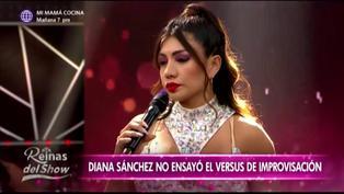 'Reinas del show 2′: Diana Sánchez sorprende al pedir retirarse de la competencia por motivos personales