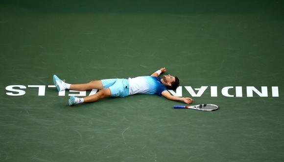 El torneo, un evento Masters 1000 que debía comenzar el martes, atrae a los mejores jugadores del mundo y a una gran multitud cada año. (Foto: AFP)