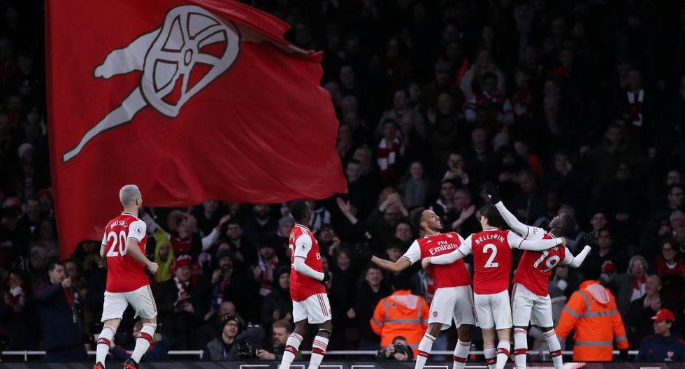 Estas fueron las mejores imágenes del duelo entre Arsenal y Everton por la Premier League. Reuters/Peter Cziborra