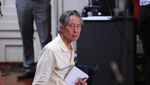 Alberto Fujimori cumple una condena de 25 años en el penal de Barbadillo. (Foto: Lino Chipana)