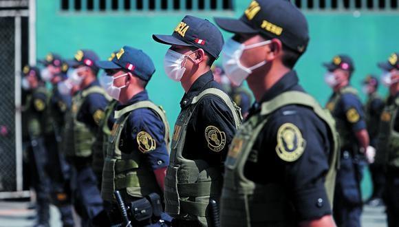 Los generales renunciantes cuestionan la designación de César Cervantes Cárdenas como nuevo comandante general de la Policía Nacional. (Foto referencial: Cesar Campos/GEC)