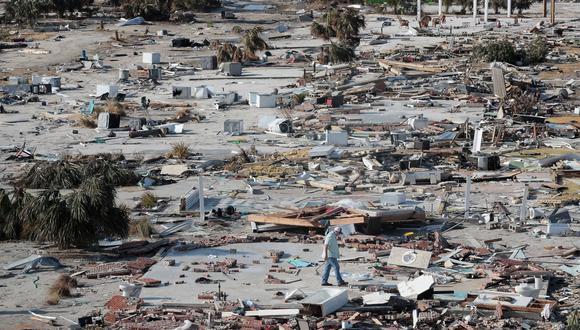 En Florida, casi 137,000 hogares y negocios estaban todavía sin electricidad. (Foto: AFP)