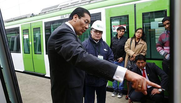 "Ministro Paredes a García: ""Licitación de metro fue impecable"""