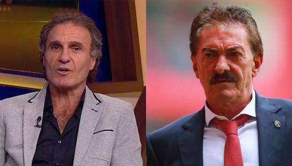 Ruggeri y La Volpe dirigieron en México al América y Chivas. (Foto: FOX Sports)