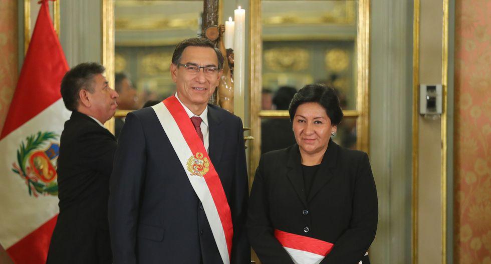 Y tan legítimas como puedan ser las aspiraciones de la señora Vilca a resarcirse, estas no tendrían que estar por encima de las que tenemos los más de 30 millones de peruanos de contar con un funcionario respetable, ecuánime y cuya transparencia no evidencie ni un solo rasguño de duda. (Foto: Presidencia Perú)
