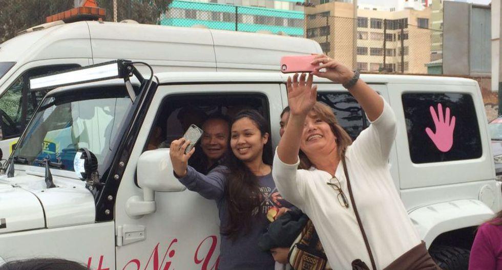 #NiUnaMenos: así se desarrolló la marcha en Lima [FOTOS] - 19