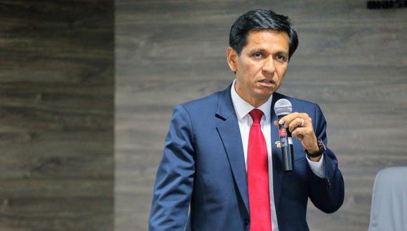 El ministro Jorge Meléndez habló sobre el inicio de la semana de la inclusión social. (Foto: Andina)