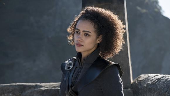 """Dany Missandei (Nathalie Emmanuel) en una escena de la temporada 7 de """"Game of Thrones"""". (Foto: HBO)"""