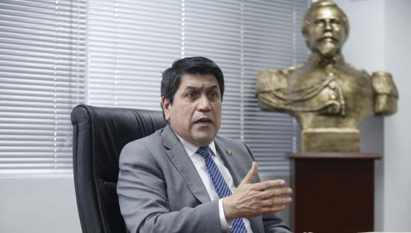 """El alcalde de San Isidro, Augusto Cáceres, afirma que el pedido de revocatoria en su contra está recién """"en una fase inicial"""". (Foto: Hugo Pérez/GEC)"""
