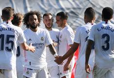 Real Madrid vs. Huesca: Eden Hazard y el 1-0 con un potente remate desde fuera del área | VIDEO