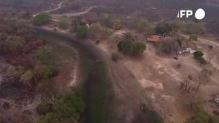 Un paraíso de ecoturismo reducido a cenizas en el Pantanal brasileño