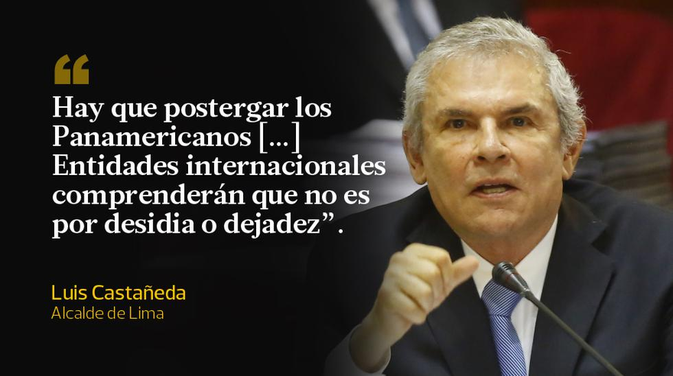 Voces a favor y en contra de que se cancelen los Juegos Panamericanos 2019 en Lima. (Foto: Archivo El Comercio)