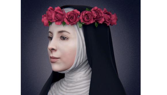 Reconstrucción del rostro de santa Rosa de Lima, elaborado en agosto de 2015 por un equipo de odontólogos y antropólogos forenses de Perú y Brasil.
