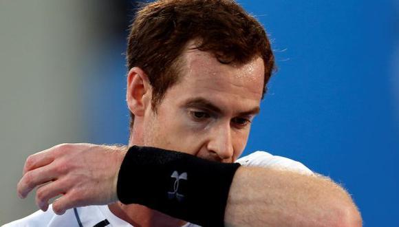 Andy Murray inicia la temporada con una derrota en Abu Dabi