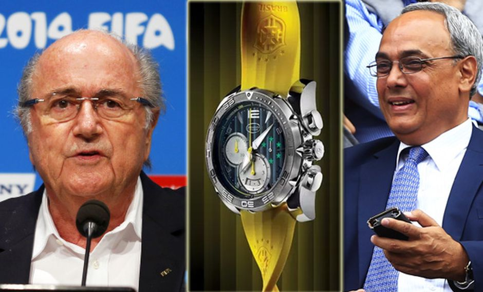 FIFA ordena devolver relojes de lujo que regaló la CBF