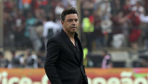 Gallardo buscaba su tercer título de Copa Libertadores como técnico de River Plate. (Foto: AFP)