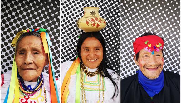 Los habitantes de la comunidad de Wayku fueron retratados por la cámara de los fotógrafos. (Foto: Sonia Cunliffe)