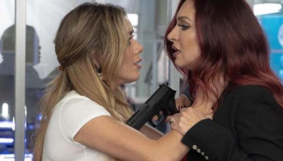 El episodio inició con la muerte de Dayana, alias 'La demonia', quien fue asesinada a manos de 'La diabla'. (Foto: Instagram El final del paraíso)