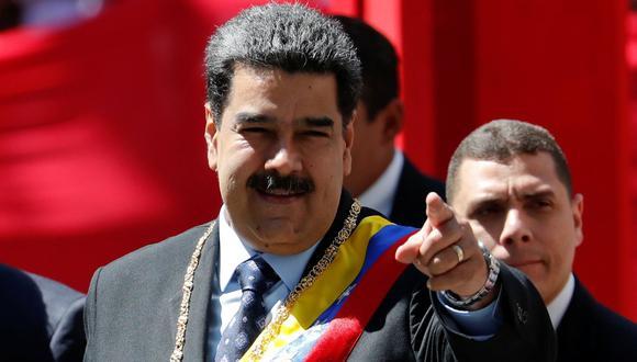 """Nicolás Maduro: """"Bolsonaro es Hitler en tiempos modernos"""". (Reuters)."""