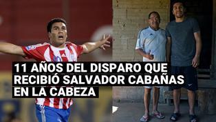 Hace 11 años Salvador Cabañas recibió un balazo en la cabeza un hecho que le cambio la vida