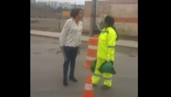 Arequipa: mujer que agredió a trabajadora rindió su declaración en reserva