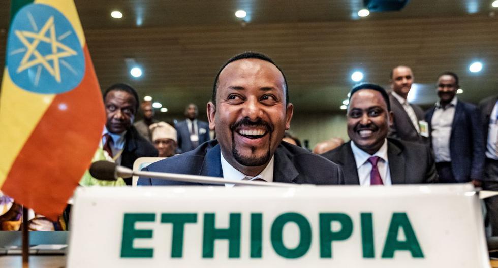 Abiy Ahmed creció en una familia multicultural formada por una madre de la etnia amara de religión cristiana ortodoxa y un padre oromo musulmán. (AFP)