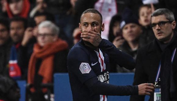 Neymar juega como delantero en el París Saint-Germain. (Foto: AFP)