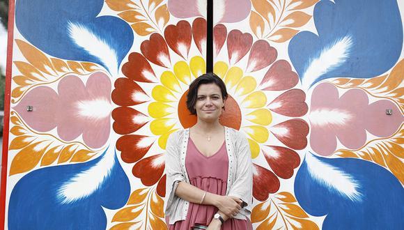 Escritora y periodista colombiana Melba Escobar, invitada internacional de la Feria Ricardo Palma.