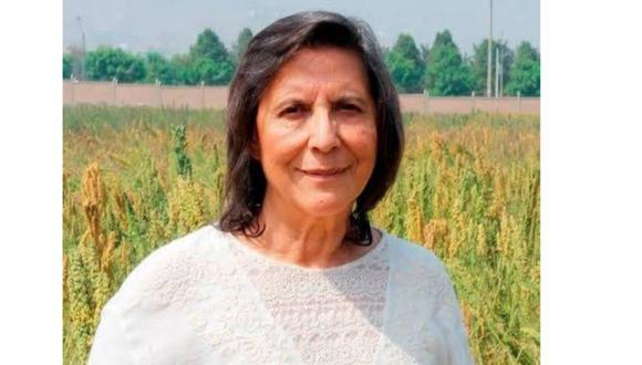 Luz Rayda Gómez-Pando es docente de la Universidad Agraria. (Difusión)